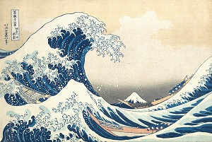 Secrets hidden in Great Wave offer leadership clues for thriving in chaos